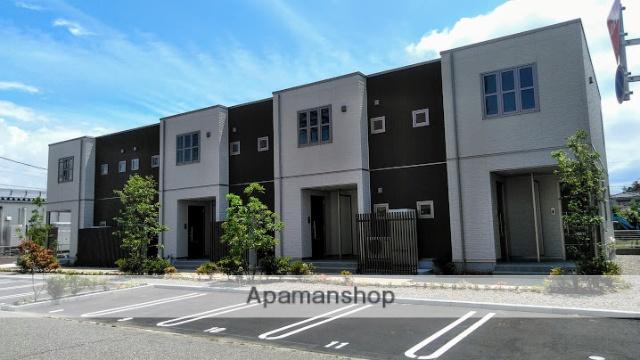 富山県富山市、南富山駅徒歩12分の新築 2階建の賃貸アパート