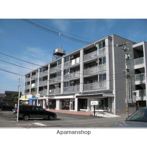 富山県富山市、小泉町駅徒歩10分の築31年 4階建の賃貸マンション