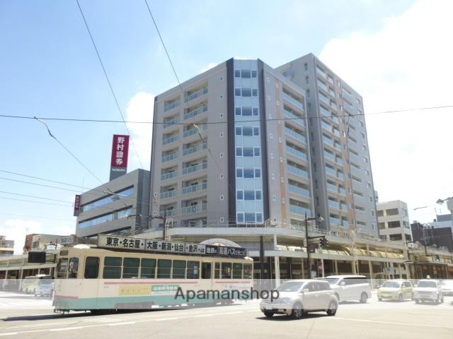 富山県富山市、西町駅徒歩1分の築5年 10階建の賃貸マンション
