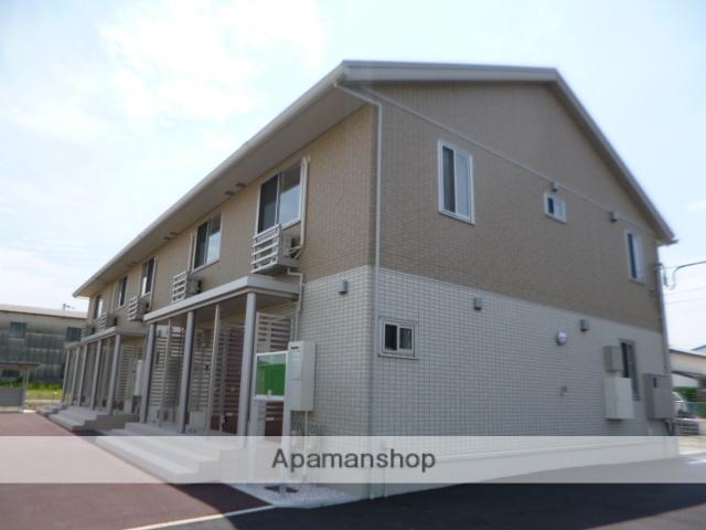 富山県富山市、東新庄駅徒歩17分の築3年 2階建の賃貸アパート