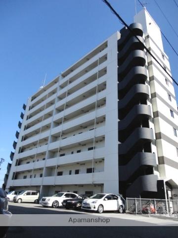 富山県富山市の築25年 9階建の賃貸マンション