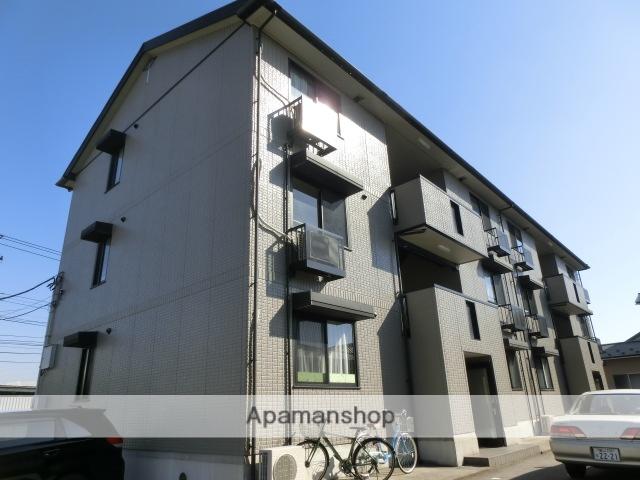 富山県富山市、不二越駅徒歩10分の築15年 3階建の賃貸アパート