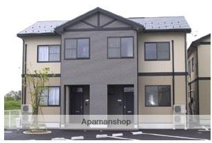 富山県富山市の築13年 2階建の賃貸テラスハウス