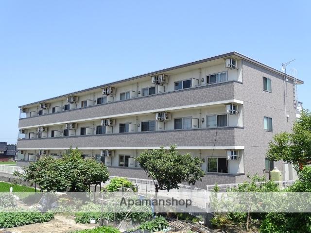 富山県下新川郡入善町、西入善駅徒歩44分の築10年 3階建の賃貸アパート