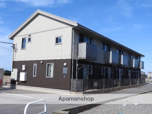 富山県魚津市、魚津駅徒歩16分の築3年 2階建の賃貸アパート