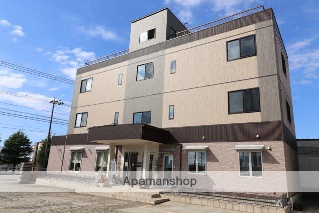 富山県黒部市、荻生駅徒歩25分の築2年 3階建の賃貸マンション