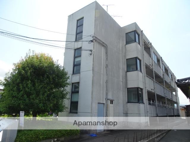 富山県黒部市、電鉄黒部駅徒歩7分の築27年 3階建の賃貸マンション