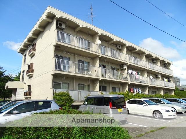 富山県魚津市、魚津駅徒歩9分の築27年 3階建の賃貸マンション