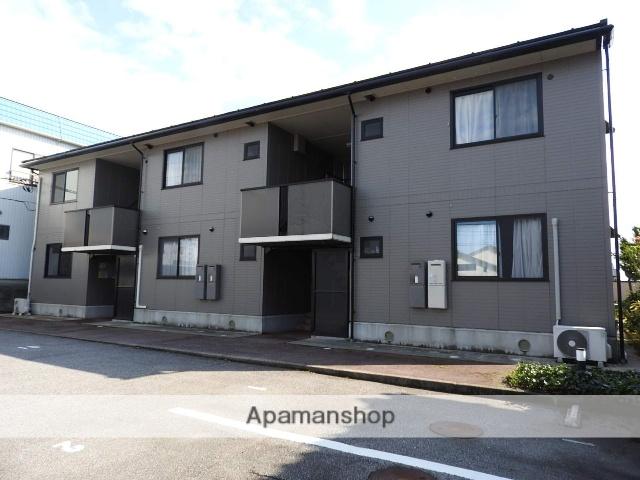 富山県魚津市の築17年 2階建の賃貸アパート
