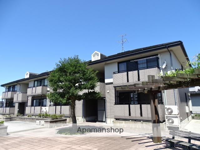 富山県滑川市の築19年 2階建の賃貸アパート