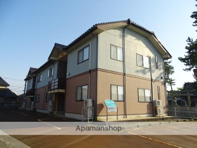 富山県滑川市、西滑川駅徒歩12分の築15年 2階建の賃貸アパート