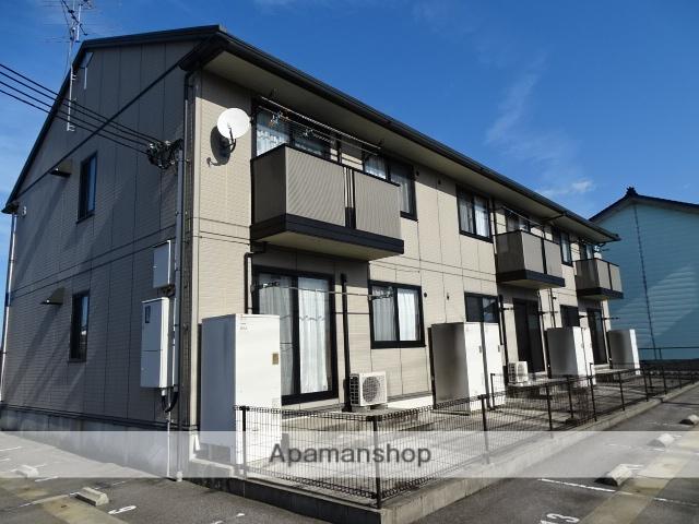 富山県黒部市、電鉄黒部駅徒歩4分の築14年 2階建の賃貸アパート