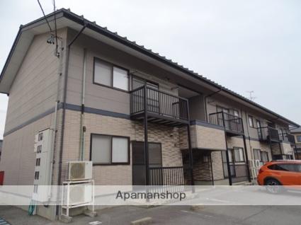 富山県黒部市、黒部駅徒歩6分の築17年 2階建の賃貸アパート