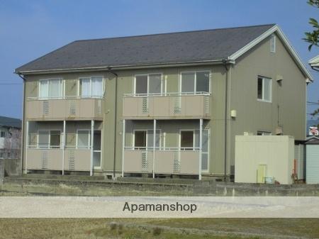 富山県下新川郡入善町の築28年 2階建の賃貸アパート