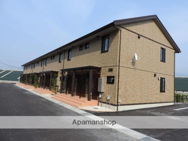 富山県魚津市、経田駅徒歩16分の新築 2階建の賃貸アパート