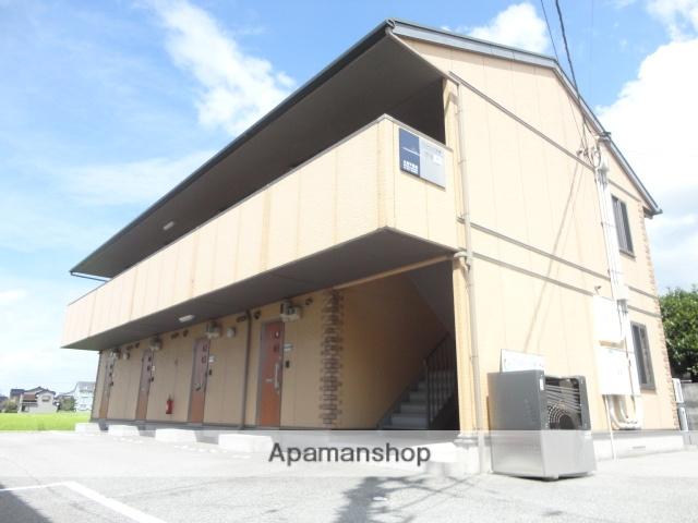 富山県魚津市、魚津駅徒歩12分の築12年 2階建の賃貸アパート