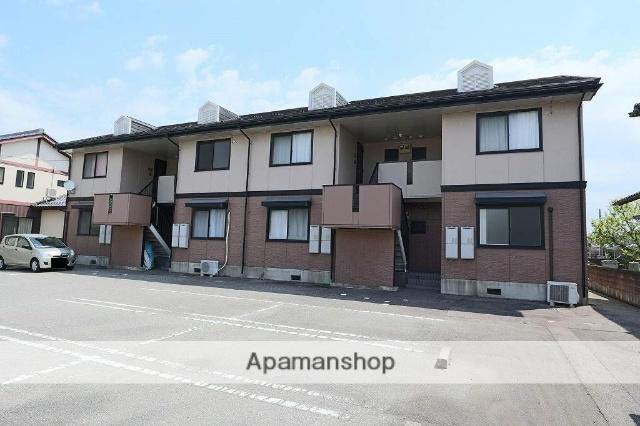 富山県高岡市の築22年 2階建の賃貸アパート