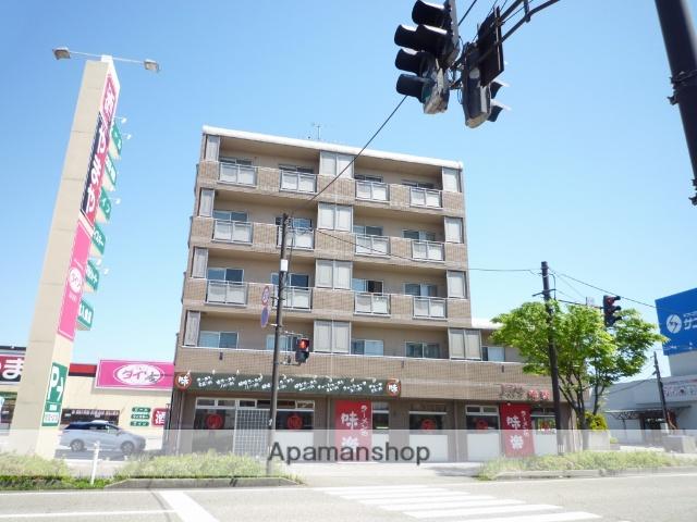 富山県射水市、小杉駅徒歩10分の築16年 5階建の賃貸マンション