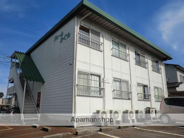 富山県射水市の築26年 2階建の賃貸アパート