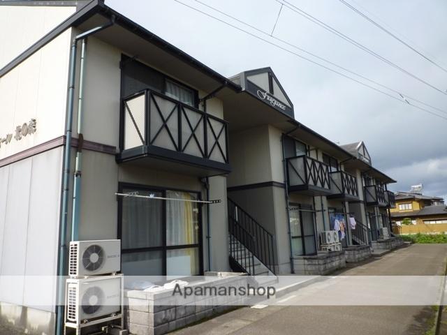 富山県富山市、蓮町駅徒歩13分の築21年 2階建の賃貸アパート