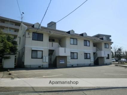 富山県富山市、大泉駅徒歩17分の築25年 2階建の賃貸アパート