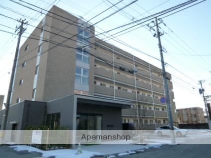 富山県富山市、諏訪川原駅徒歩4分の築3年 5階建の賃貸マンション