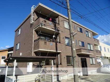 富山県富山市、県庁前駅徒歩5分の築13年 3階建の賃貸マンション