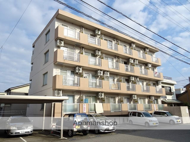 富山県富山市、荒町駅徒歩9分の築33年 4階建の賃貸マンション