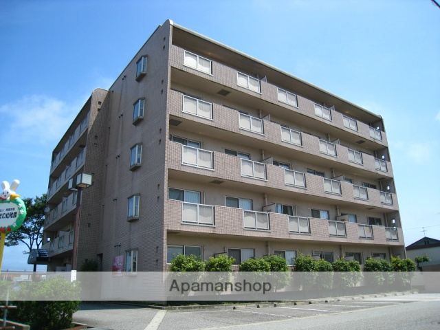 富山県富山市、東富山駅徒歩14分の築20年 5階建の賃貸マンション