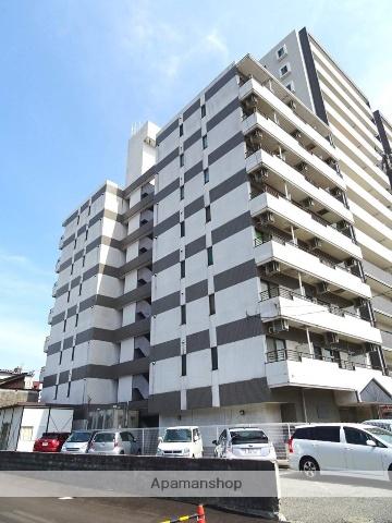 富山県富山市、西町駅徒歩8分の築25年 8階建の賃貸マンション
