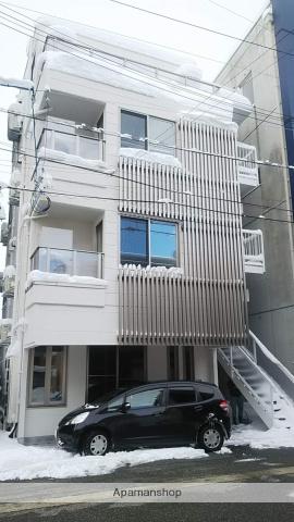 富山県富山市、諏訪川原駅徒歩4分の築32年 4階建の賃貸マンション