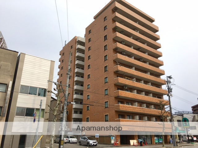 富山県富山市、荒町駅徒歩10分の築28年 12階建の賃貸マンション
