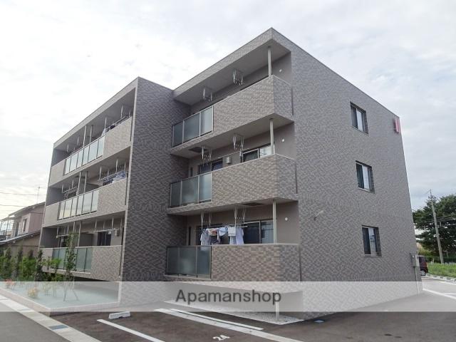 富山県富山市、上堀駅徒歩6分の築1年 3階建の賃貸マンション