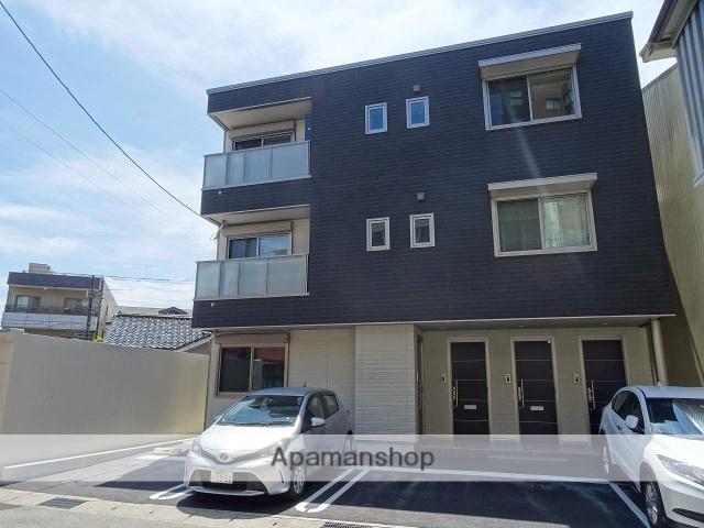 富山県富山市、西町駅徒歩10分の新築 3階建の賃貸マンション