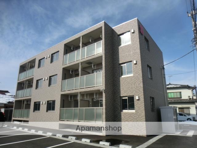 富山県富山市、大泉駅徒歩28分の新築 3階建の賃貸マンション