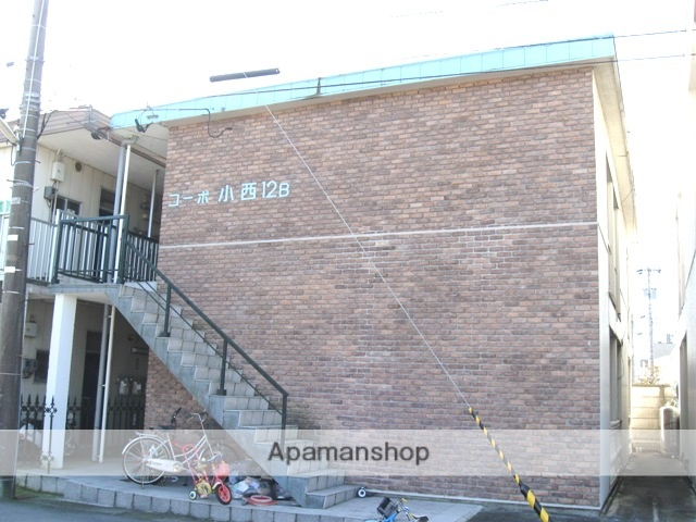 富山県富山市、富山駅徒歩8分の築30年 2階建の賃貸アパート