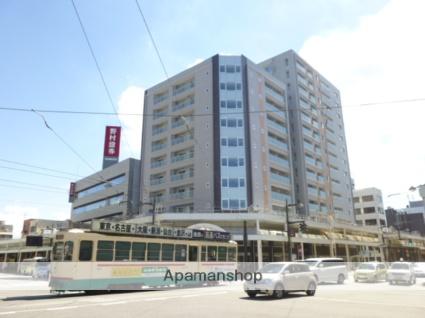 富山県富山市、西町駅徒歩1分の築4年 10階建の賃貸マンション