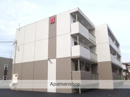 富山県富山市の築4年 3階建の賃貸マンション