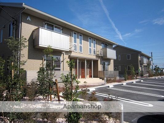 富山県富山市、競輪場前駅徒歩2分の築4年 2階建の賃貸アパート