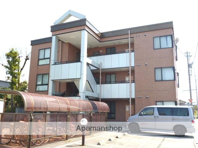 富山県富山市、粟島(大阪屋ショップ前)駅徒歩18分の築20年 3階建の賃貸マンション