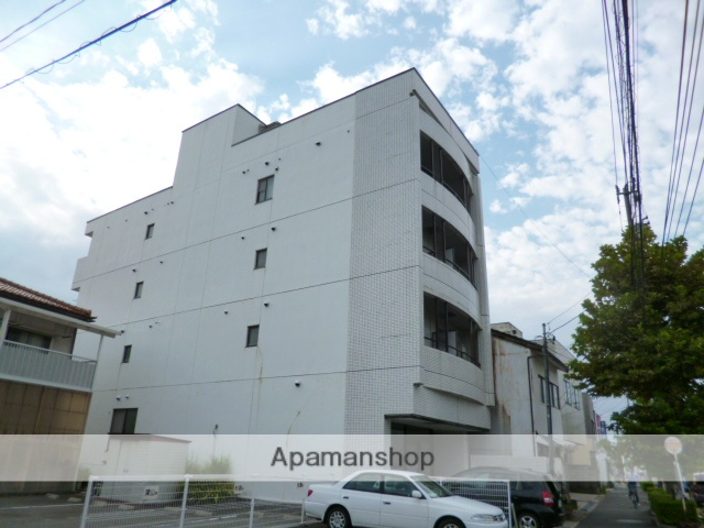 富山県富山市、大町駅徒歩3分の築28年 4階建の賃貸マンション