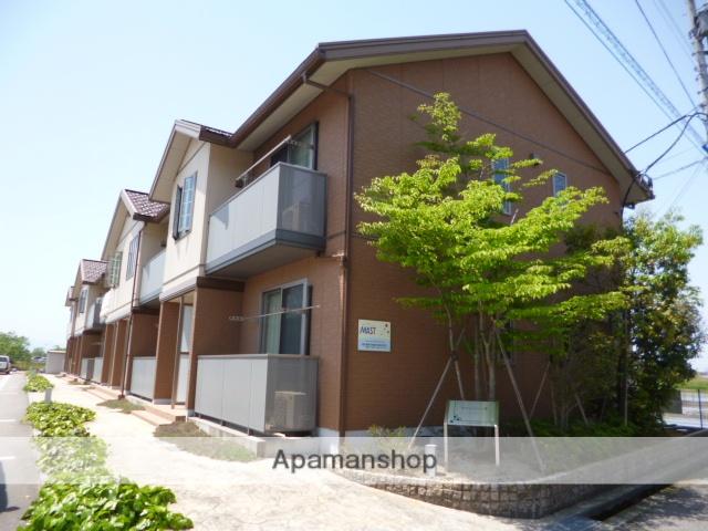富山県富山市の築9年 2階建の賃貸アパート