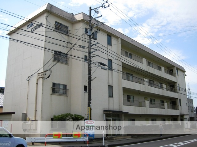 富山県富山市、西富山駅徒歩4分の築39年 4階建の賃貸アパート