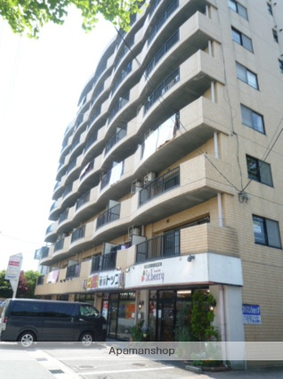 富山県富山市、不二越駅徒歩3分の築27年 9階建の賃貸マンション