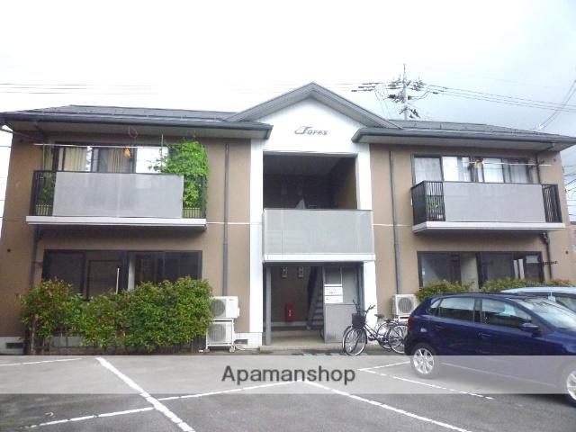 富山県富山市、越中中島駅徒歩15分の築17年 2階建の賃貸アパート