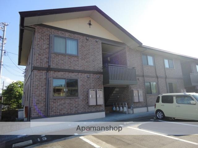 富山県富山市の築12年 2階建の賃貸アパート