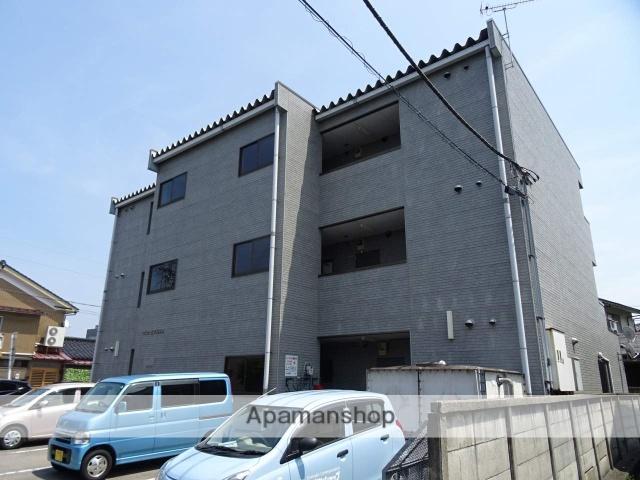 富山県富山市、インテック本社前駅徒歩8分の築21年 3階建の賃貸マンション