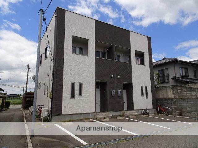 富山県富山市、速星駅徒歩9分の築3年 2階建の賃貸テラスハウス