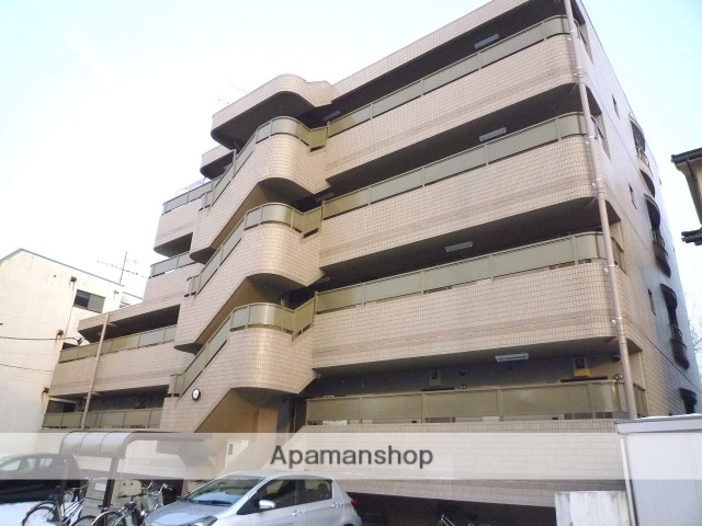 富山県富山市、小泉町駅徒歩6分の築23年 4階建の賃貸マンション