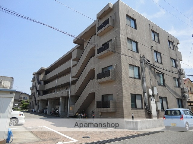 富山県富山市、速星駅徒歩6分の築20年 4階建の賃貸マンション
